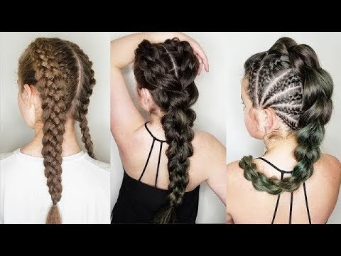 amazing braided hairstyles tutorials