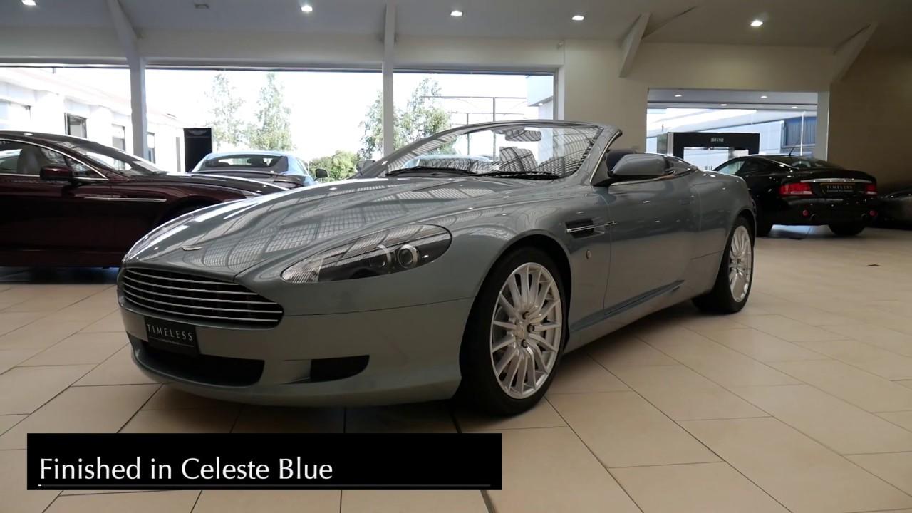 Aston Martin Edinburgh Db9 Volante Youtube