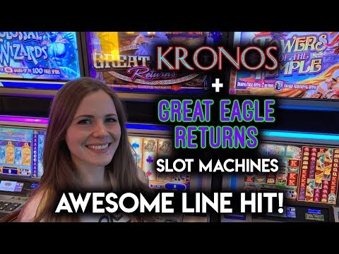BIG Line Hit On Great Eagle Returns! This Game Has Potential!!