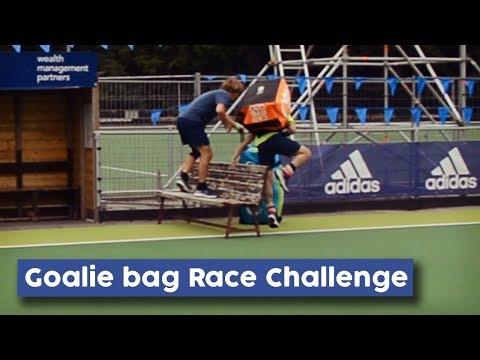 Goalie Bag Race Challenge | Hockey Heroes TV