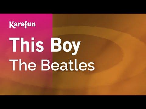 Karaoke This Boy - The Beatles *