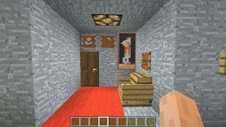 minecraft how to hide 100 chests in a small room