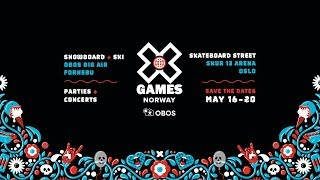 ANNOUNCING: X Games Norway 2018
