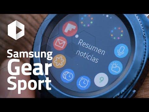 Review Samsung Gear Sport. ¡El smartwatch para nadadores!