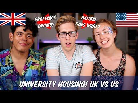 University Housing   British VS American VS Oxford