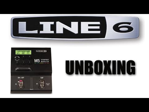 Line 6 M5 Unboxing