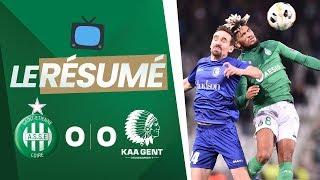 ASSE 0-0 La Gantoise : le résumé vidéo