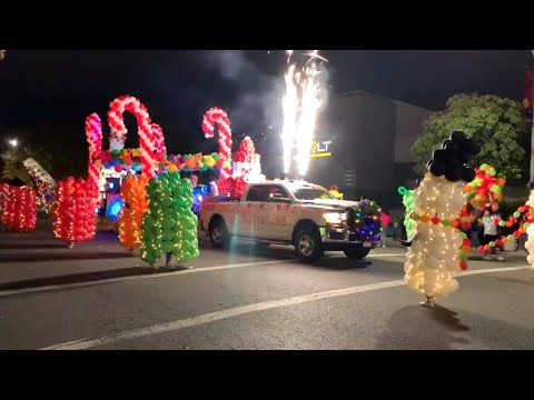 See Lights, Candy, Santa As Christmas Parade Brings Cheer To Downtown Modesto