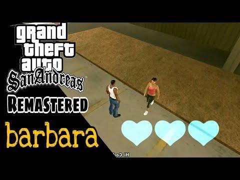 Remastered | Cara Mendapatkan Pacar Barbara Dengan New Game - GTA San Andreas Android