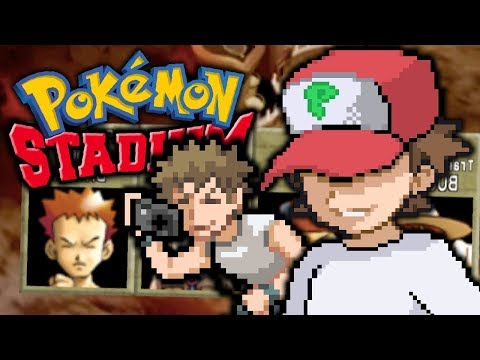 WHAT ARE THESE NICKNAMES!? - Pokémon Stadium: Gym Leader Castle w/ Sacred + SilverYume (Part 1)