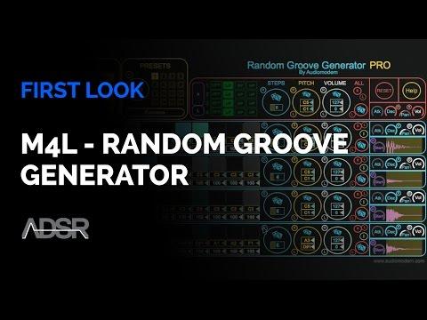 M4L - Random Groove Generator by Audiomodern