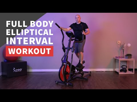 Calorie-Burning Full Body Elliptical Interval Workout