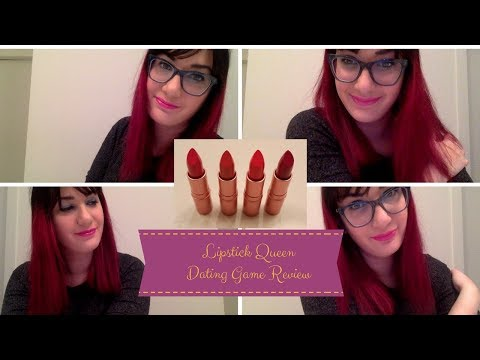 Lipstick Queen Dating Game Collection Makeup Review