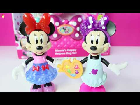 Juguetes de Minnie Mouse Snap N Pose Minnie Mouse TOYS!! Mundo de Juguetes