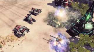 Command and Conquer 4: Stealth Tank Unit Footage