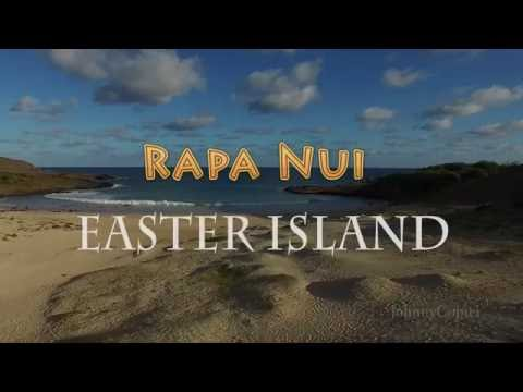 Easter Island, Rapa Nui, Drone Aerial Video - Johnny Copter