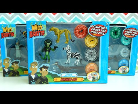 Wild Kratts Toys Creature Power Animal Sets Runners Fliers Swimmers