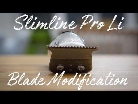 Andis Slimline Pro Li Blade Modification