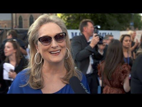 MAMMA MIA! 2 Here We Go Again WORLD PREMIERE Interviews - Meryl Streep, Amanda Seyfried, Colin Firth