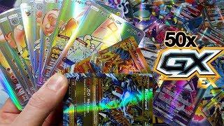 MEGA CHARIZARD EX, HYPER RARE TAPU LELE GX + MORE! 50 EX GX ULTRA RARE POKEMON BOOSTER PACK OPENING!