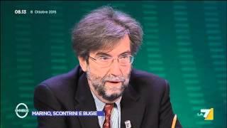 Omnibus - Marino, scontrini e bugie (Puntata 08/10/2015)