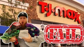 SEARCHING for LIMITED SNEAKERS at TJ MAXX!!! EPIC FAIL!!!
