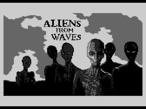 """""""Aliens from WAVES"""" Silly Venture 2k17 Game Compo (Atari 8bit)"""
