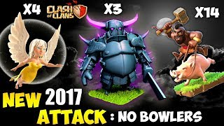 Healer + Pekka + Hogs: HEPEHO NEW TH9 STRONG WAR ATTACK STRATEGY 2017 | The New HPHB| Clash of Clans