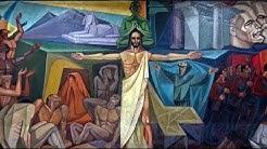 """Develación del Mural """"Historia de la Humanidad"""" del Maestro Carlos Rodríguez"""
