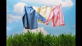 Как на одежде убрать желтые пятна.Химчистка на дому.23.09.2017.