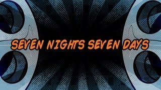 The Fratellis - Seven Nights Seven Days (Official Lyric Video)