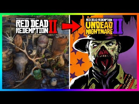 Red Dead Redemption 2 Undead Nightmare - Something SPOOKY Will Happen If Arthur Goes To This Place!