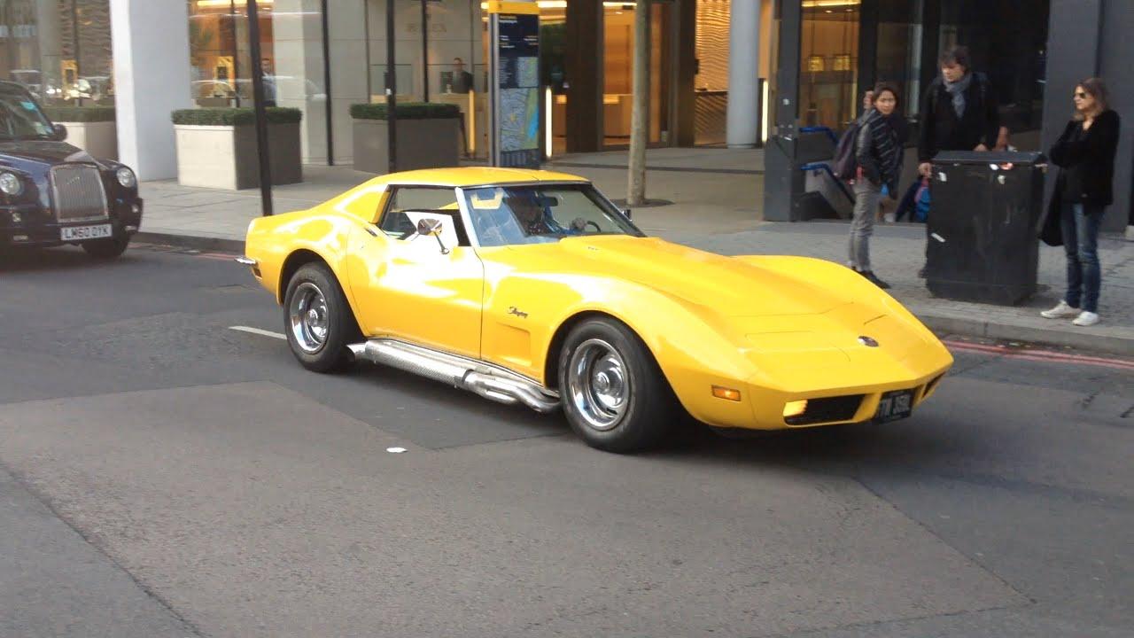Corvette Stingray 1969 >> One Year Featured 1973 Rare Yellow Corvette Stingray in ...