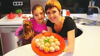 Видео для девочек - Маша и Полен готовят десерт