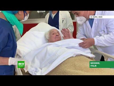 Italie: victoire d'une centenaire contre le coronavirus, retour «a casa sua»