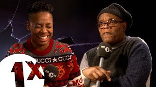 Samuel L. Jackson's Sweariest Interview Ever?! #trashbag | CONTAINS VERY STRONG LANGUAGE