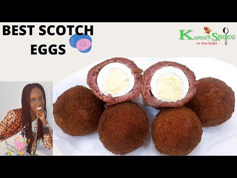 The best scotch egg recipe so easy and yummy, scotch egg recipe nigerian,