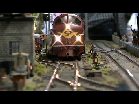 Traumhafte Modellbahn in Spur 1 von den Leuvense Spooreen Vrienden