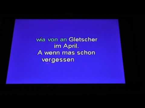 Karaoke - I'm from Austria - inofficial austrian national anthem