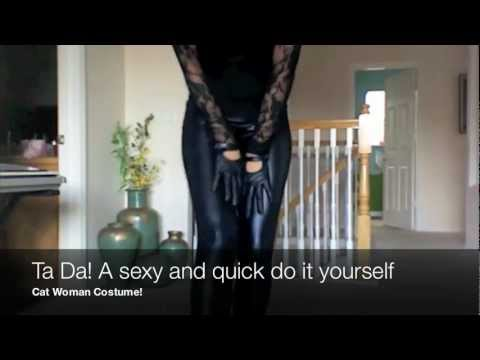 Catwoman halloween costume diy youtube solutioingenieria Gallery