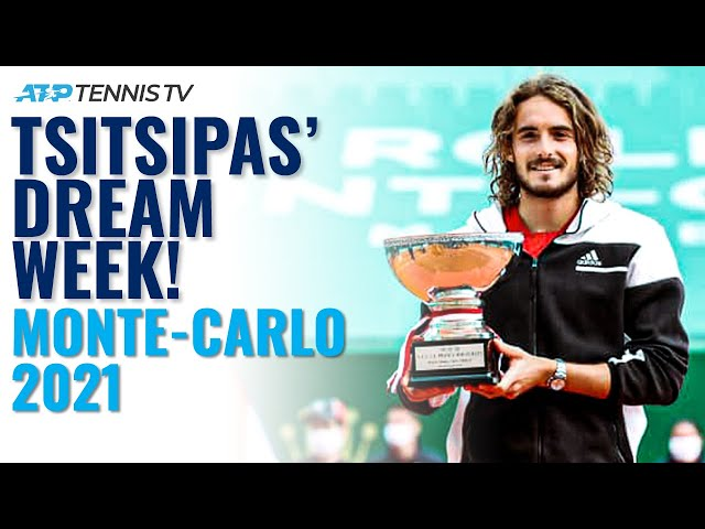 Stefanos Tsitsipas Best Shots & Rallies and Every Camera Lens Sign! | Monte-Carlo 2021