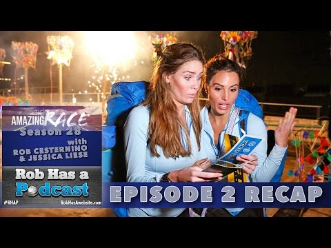 Amazing Race 28 Episode 2 Recap | You Look Like Gollum