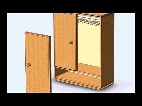 шкаф для кукол своими руками чертежи