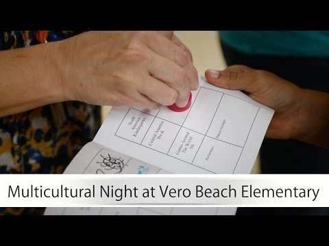 Multicultural Night At Vero Beach Elementary School