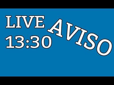 LIVE HOJE AS 13:30