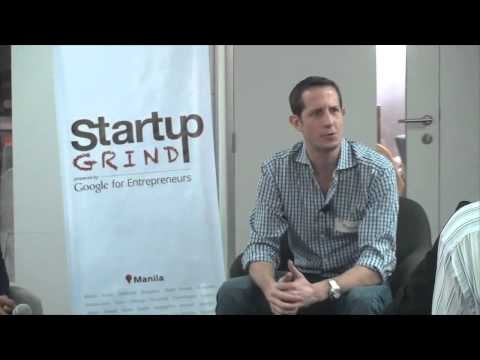 Richard Eldridge (Lenddo) at Startup Grind Manila