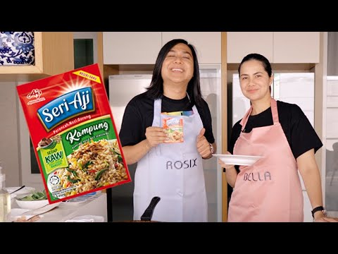 Nasi Goreng Kampung | Rahsia Nasi Goreng Lebih Sedap Setanding Restoren | Nasi Goreng Kampung Recipe.