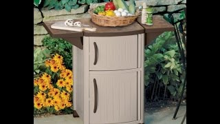 Suncast Dcp2000 Outdoor Prep Station For Outdoor Decor Reviews