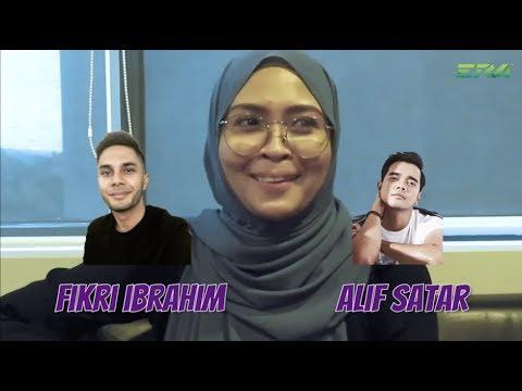 Cabaran Itu Ke Ini - Siti Nordiana Pilih Fikry Ibrahim Atau Alif Satar?