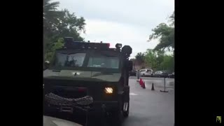 WTF! Florida Police Are Using Military APC to Pull People Over In Gainesville